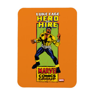 Luke Cage Comic Graphic Magnet