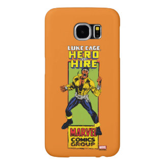 Luke Cage Comic Graphic Samsung Galaxy S6 Cases