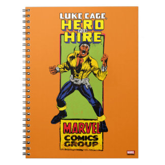 Luke Cage Comic Graphic Spiral Notebook