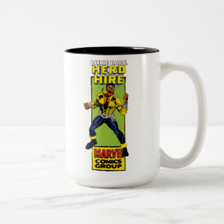Luke Cage Comic Graphic Two-Tone Coffee Mug