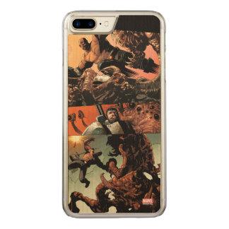 Luke Cage Fighting Aliens Carved iPhone 8 Plus/7 Plus Case