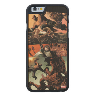 Luke Cage Fighting Aliens Carved Maple iPhone 6 Case