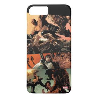 Luke Cage Fighting Aliens iPhone 8 Plus/7 Plus Case
