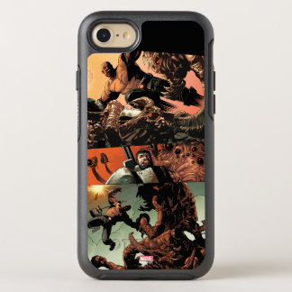 Luke Cage Fighting Aliens OtterBox Symmetry iPhone 8/7 Case