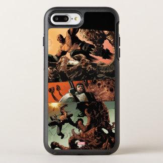Luke Cage Fighting Aliens OtterBox Symmetry iPhone 8 Plus/7 Plus Case