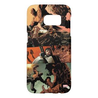 Luke Cage Fighting Aliens Samsung Galaxy S7 Case