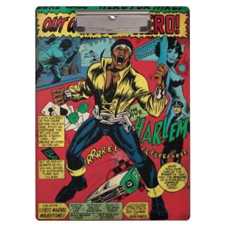 "Luke Cage ""Out Of Hell"" Clipboard"