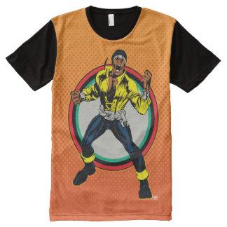 Luke Cage Retro Character Art All-Over-Print T-Shirt
