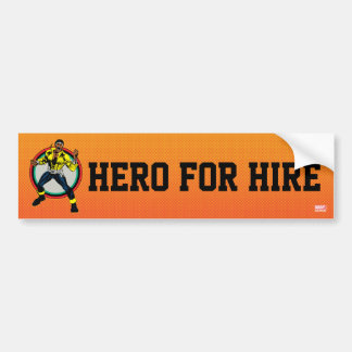 Luke Cage Retro Character Art Bumper Sticker