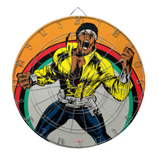 Luke Cage Retro Character Art Dartboard