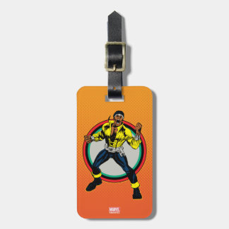 Luke Cage Retro Character Art Luggage Tag