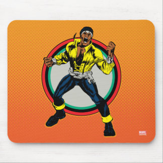 Luke Cage Retro Character Art Mouse Pad