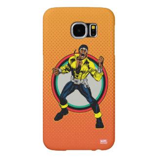 Luke Cage Retro Character Art Samsung Galaxy S6 Cases