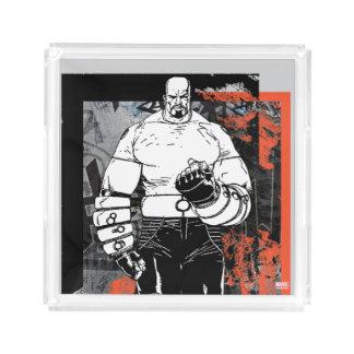 Luke Cage Sketch Acrylic Tray