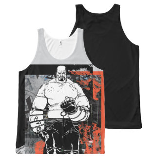 Luke Cage Sketch All-Over-Print Tank Top