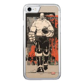 Luke Cage Sketch Carved iPhone 8/7 Case