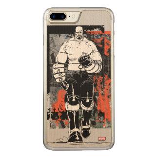 Luke Cage Sketch Carved iPhone 8 Plus/7 Plus Case
