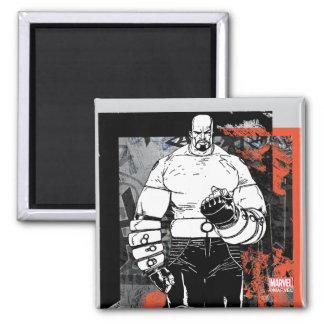 Luke Cage Sketch Magnet