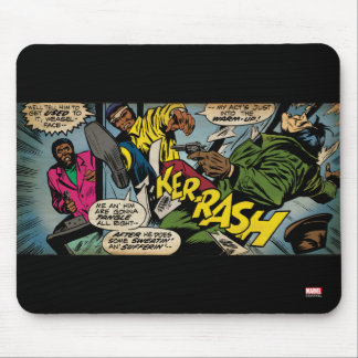 "Luke Cage ""Warm Up"" Mouse Pad"