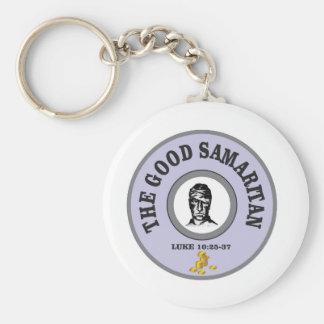 luke good samaritan keychain
