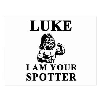 luke i am your STOPPER Postcard