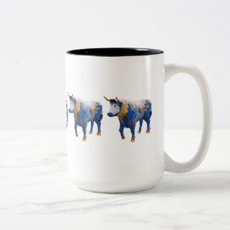 """Luke the Celtic Ox"" 15 oz mug"