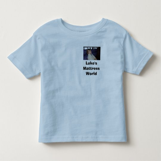 Luke's Mattress World Toddler T-shirt
