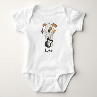 Luke's Rock and Roll Puppy Baby Bodysuit