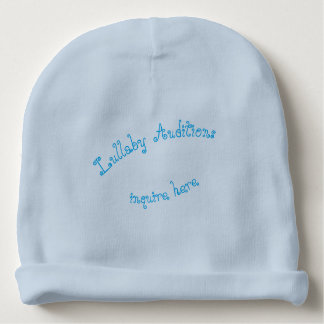 Lullaby Auditions  infant boys Baby Beanie