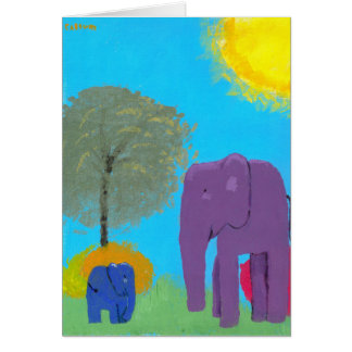 Lullaby Park Note card by Callum