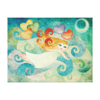 Lullaby Stretched Canvas Print Wall Art