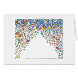 """Lullaby Tree"" Custom Note Card"