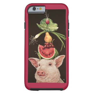 Lulu and her lunch iPhone 6 tough case