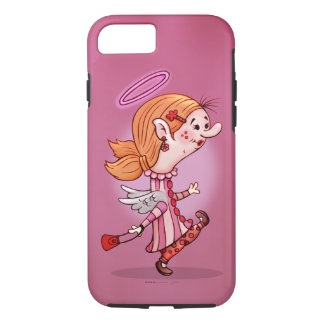 LULU ANGEL CARTOON Apple iPhone 7  TOUGH iPhone 8/7 Case