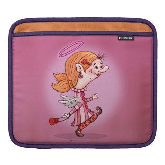 LULU ANGEL CARTOON iPad H iPad Sleeve