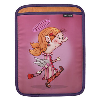 LULU ANGEL CARTOON iPad iPad Sleeve