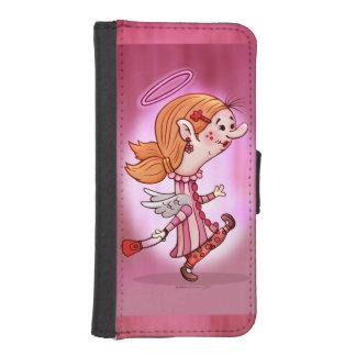 LULU ANGEL CARTOON iPhone 5/5s Wallet Case