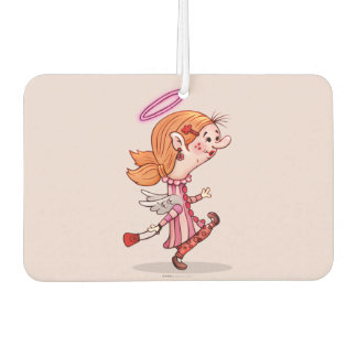 LULU ANGEL CARTOON Portrait Landscap Air Freshener