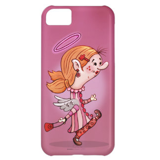 LULU ANGEL CUTE CARTOON iPhone 5C Cover For iPhone 5C