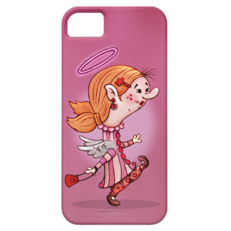 LULU ANGEL CUTE CARTOON iPhone SE + iPhone 5/5S Case For The iPhone 5