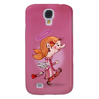 LULU ANGEL CUTE CARTOON Samsung Galaxy S4