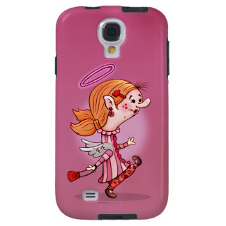 LULU ANGEL CUTE CARTOON Samsung Galaxy S4 Tough