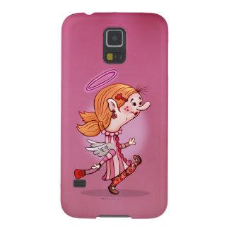 LULU ANGEL CUTE CARTOON Samsung Galaxy S5 Galaxy S5 Case