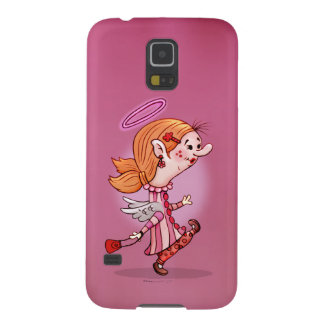 LULU ANGEL CUTE CARTOON Samsung Galaxy S5 Galaxy S5 Cover