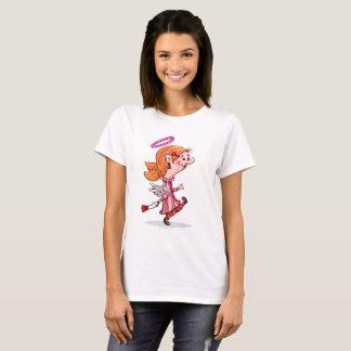 LULU ANGEL SPORT SHIRT, Women's Basic T-Shirt