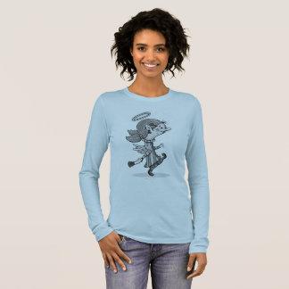 LULU ANGEL SPORT SHIRT, Women's Bella+Canvas Long Long Sleeve T-Shirt