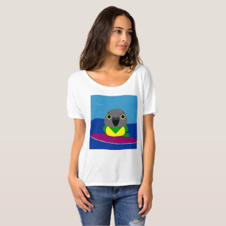 Lulu the Senegal parrot Surfing T-shirt
