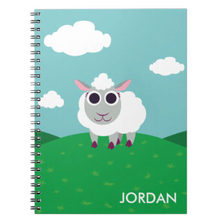 Lulu the Sheep Notebook