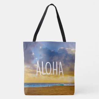 Lumahai Beach, Kauai, Aloha Hawaiian Beach Bag