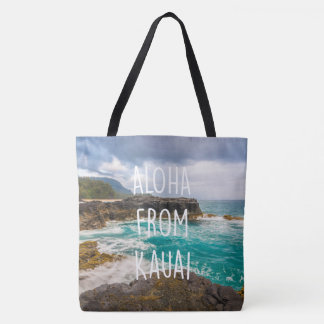 Lumaha'i Beach, Kauai, Hawaiian Beach Bag